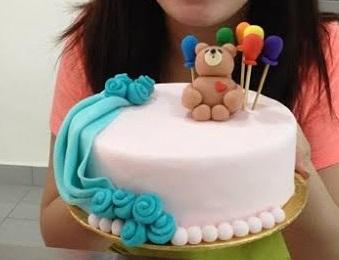 Cake Decorating Class Kl : Cake Decorating with Fondant Class Malaysia(Birthday ...