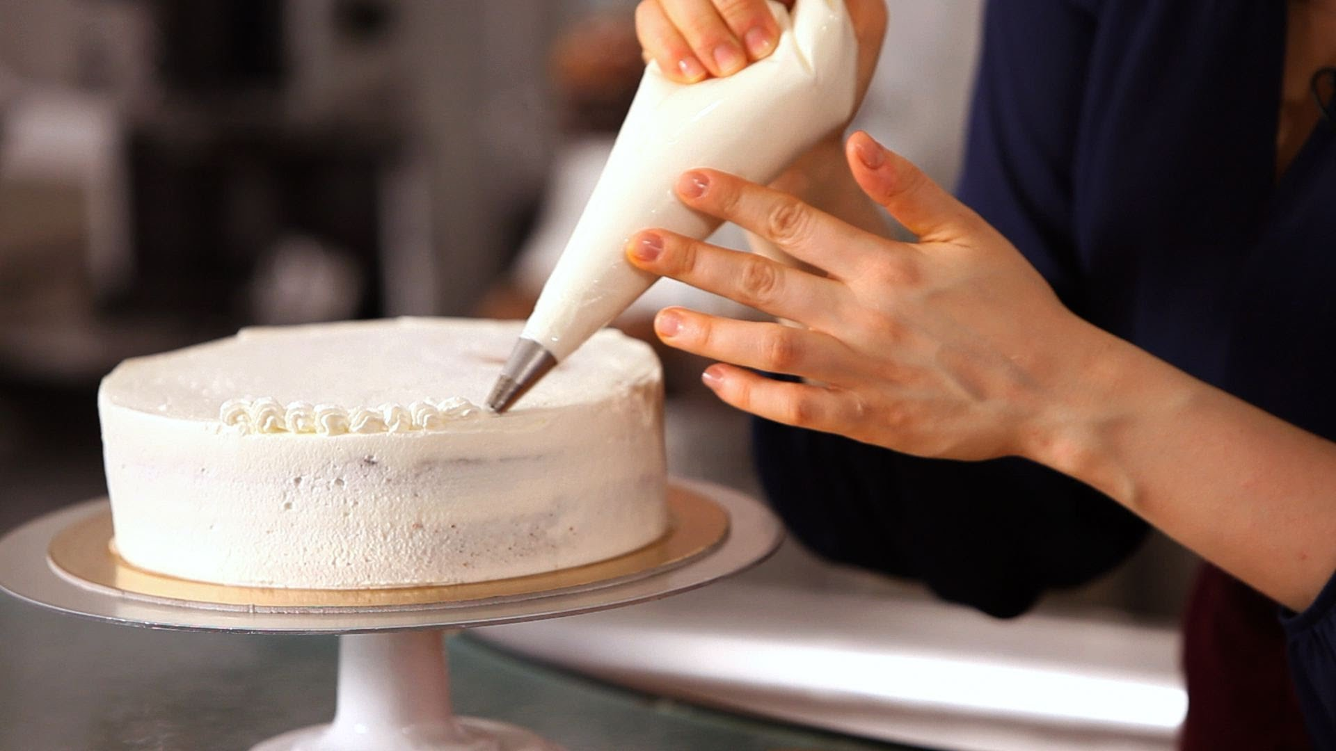 Cake Decorating with Fresh Cream Baking Class